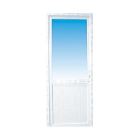porte de 90 cm porte de service pvc 1 2 vitr 233 e droite 205 x 90 cm materiauxnet