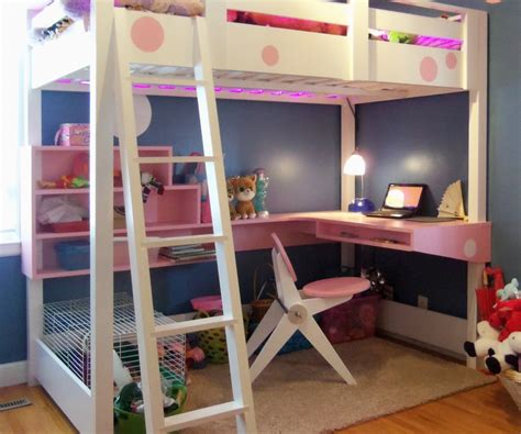 teenage bed with desk teen loft beds in charm teen bedroom decoration using