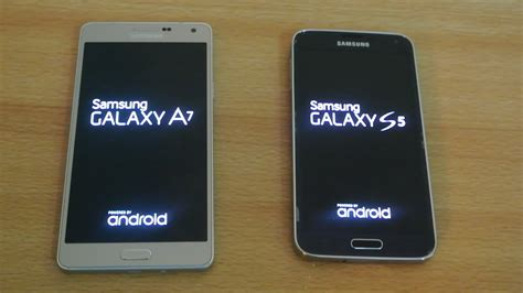 Samsung A7 Vs S5 Samsung Galaxy A7 Vs Samsung Galaxy S5 Which Is Faster