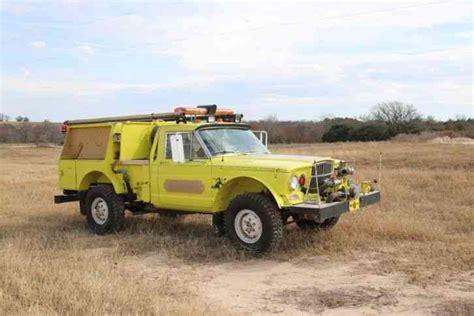 jeep fire truck kaiser jeep m 715 1968 emergency fire trucks