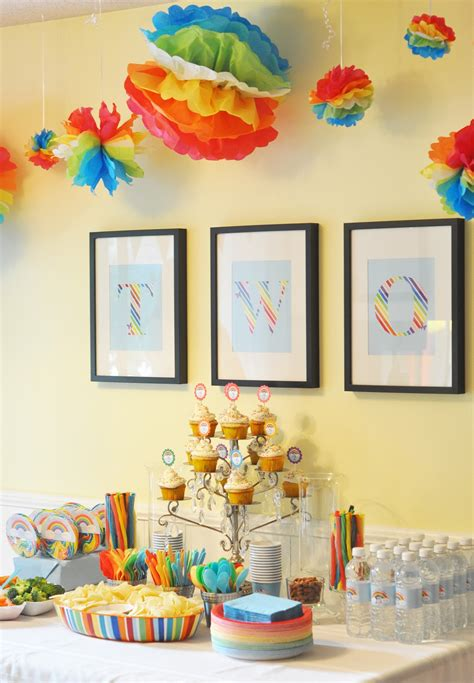 2nd Birthday Decorations At Home | craftily ever after