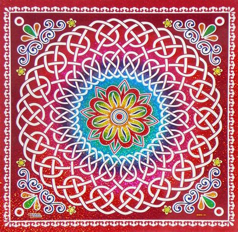 printable sticker paper india colorful sticker rangoli print on glazed paper 19 5 x 19