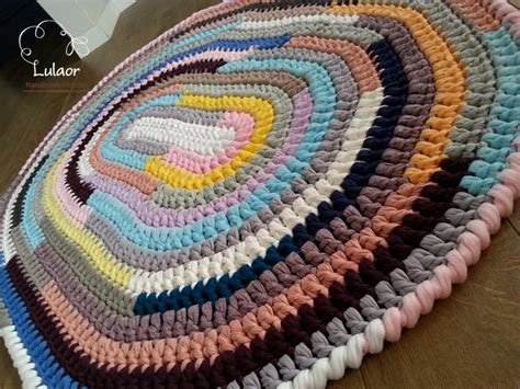 crochet rug pattern with yarn 50 sale on all the rugs crochet oval rug t shirt yarn by