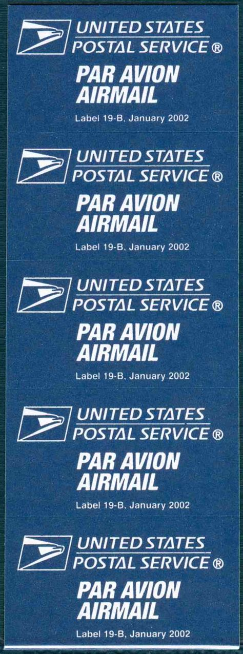 Where Does A Stamp Go Does The Usps Offer Airmail Labels Stamp Community Forum