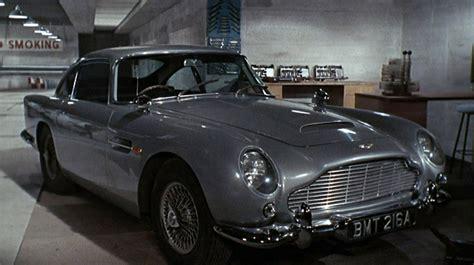Bond Goldfinger Aston Martin 124 aston martin db5 bond gadgets