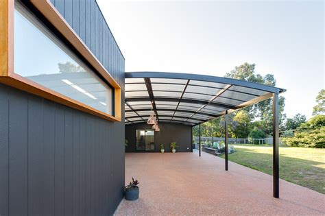 curved awnings outdoor living