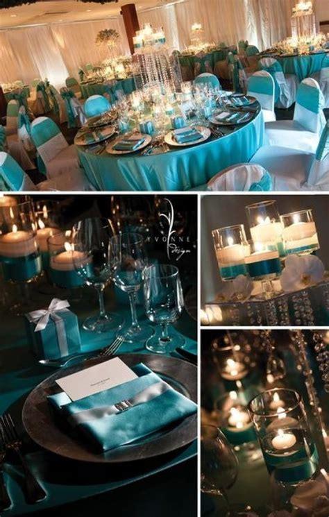 Tiffany Blue Wedding   Tiffany themed Wedding Reception