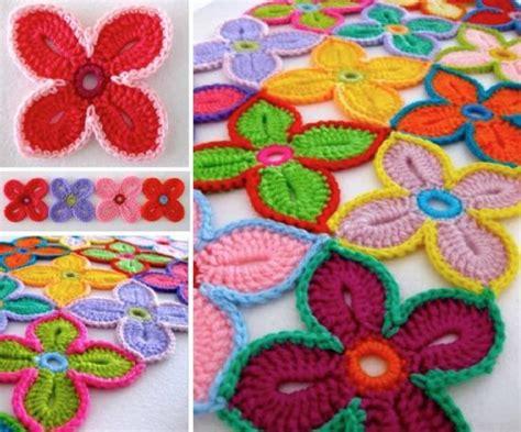 crochet pattern hawaiian flowers hawaiian flowers crochet pattern free tutorial and video