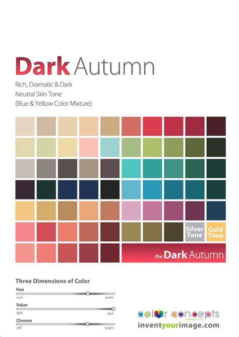 deep autumn color palette 17 best images about color analysis deep autumn shaded