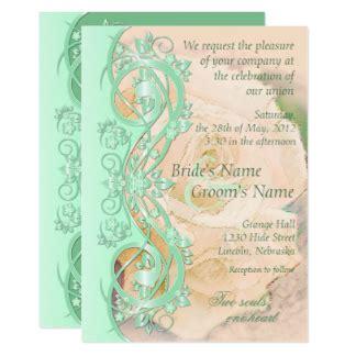 mint wedding invitations uk mint and wedding invitations announcements zazzle co