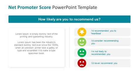 net promoter score survey template net promoter score powerpoint template slidemodel