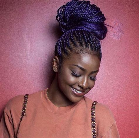 Old Box Braids | how to make old box braids look new