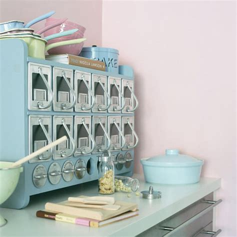 Pink And Blue Kitchen Decor by Pastel Kitchens Panda S House