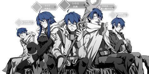 wallpaper anime log horizon anime log horizon le manga mmo r 233 sum 233 et personnage