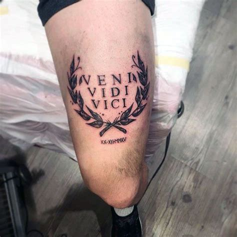 vidi veni vici tattoo designs best 25 veni vidi vici ideas on