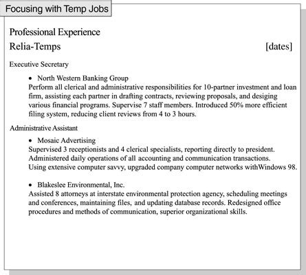 resume examples for college students with little experience best