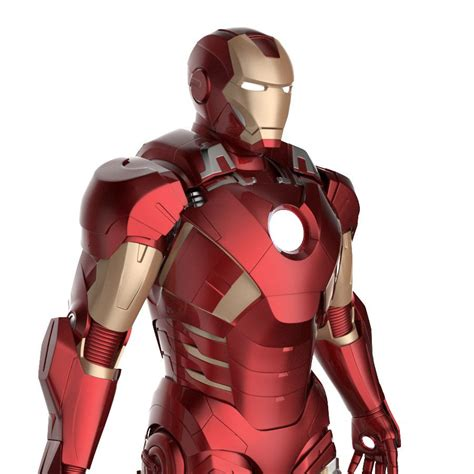 printable model mark vii tony stark armor mk suit