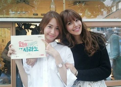 Yonna Set yoona drops by quot dating agency cyrano quot set to support