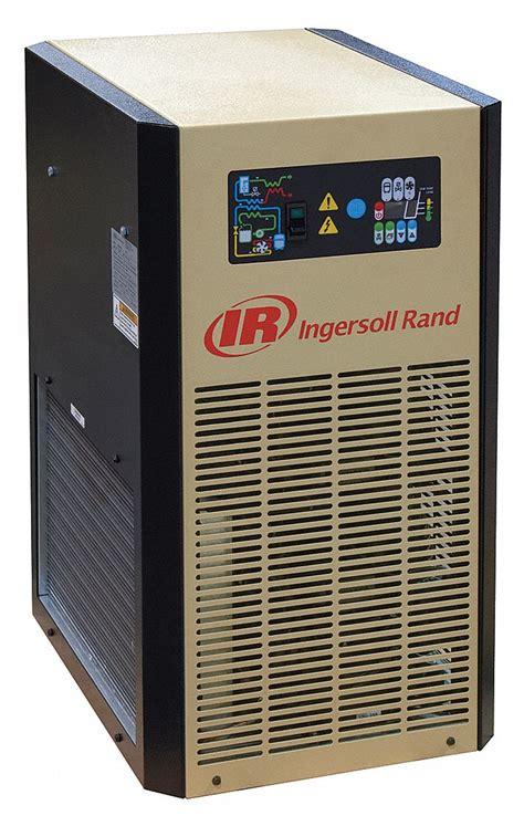 ingersoll rand 125 cfm compressed air dryer for 25hp maximum air compressor 200 psi 29fk73