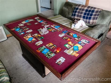diy board table guide to great diy gaming tables