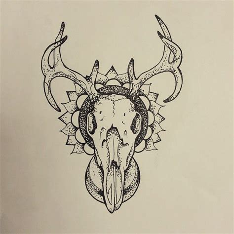 henna tattoos red deer 18 best henna deer skull images on deer