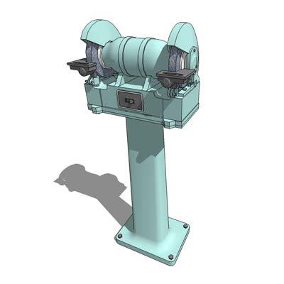 bench mounted grinder grinder 3d model formfonts 3d models textures