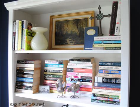 paperback bookshelves styling a bookcase burger