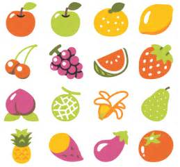 Fruit and vegetable emojis on android
