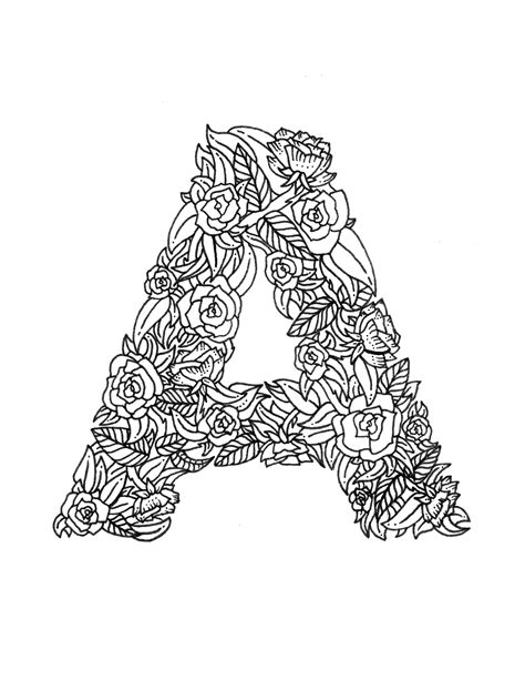 letter a coloring pages free coloring pages boelter design co