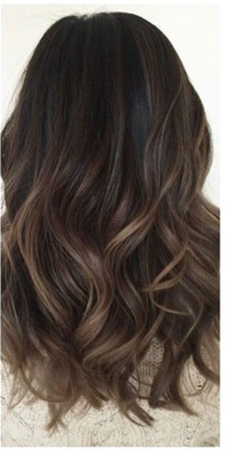 medium brown hair lowlights 34 amazing looks for brown balayage hair is for you