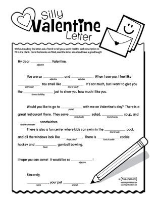 printable joke letters my sister s suitcase valentine s day mad libs v day
