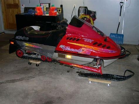 Skidoo 1999 Snowmobile Repair Manual Tradebit