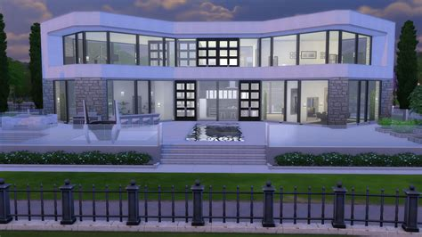 mod the sims glenridge hall the mansion from tv series the mod the sims ultra modern mansion no cc