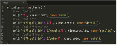 python tutorial on classes 目前的 polls urls