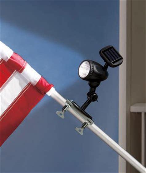 solar light for flag pole solar led flag pole light