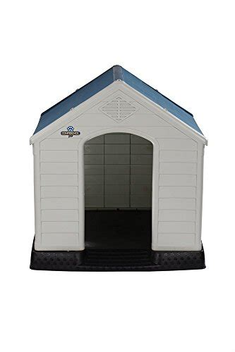 Confidence Pet Waterproof Plastic Dog Kennel Outdoor Winter House Extra Large The