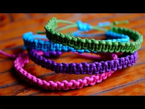 Do Be A Square With This Lola Bracelet by Diy Stackable Square Knot Cobra Stitch Bracelets