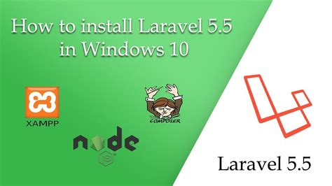 how to install laravel 5 php framework with nginx on how to install laravel 5 5 in windows 10 youtube