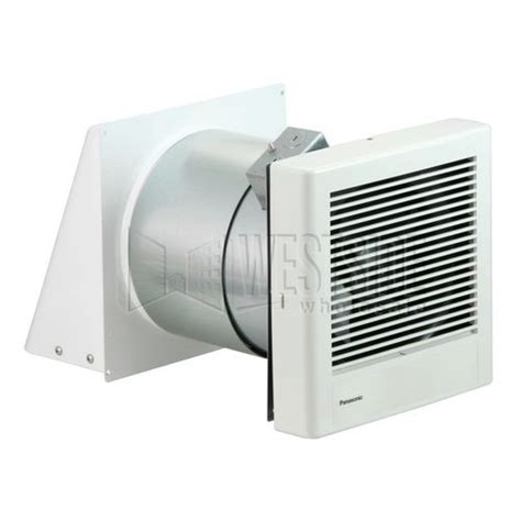 bathroom fan wall vent panasonic fv 08wq1 whisperwall 70 cfm fan
