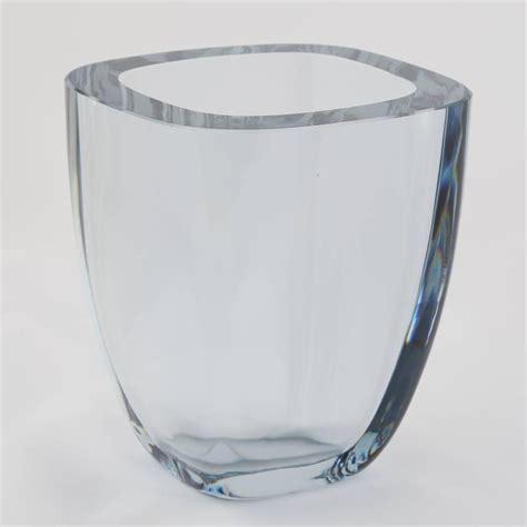Large Rectangular Glass Vase by Large Rectangular Strombergshyttan Glass Vase Circa 1950s For Sale At 1stdibs