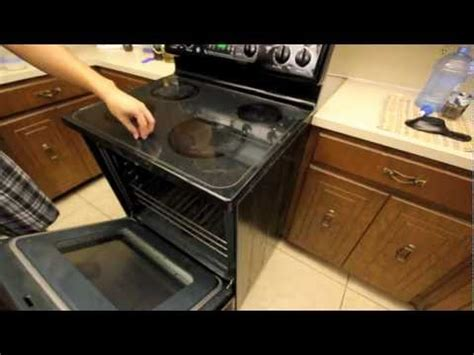 how to remove electric cooktop surface electric oven range stop working repair replace