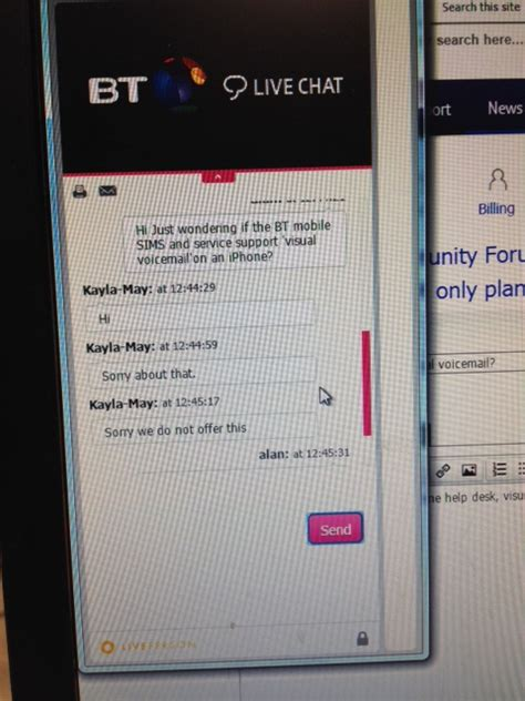 bt mobile plans solved bt mobile sim only plans visual voicemail