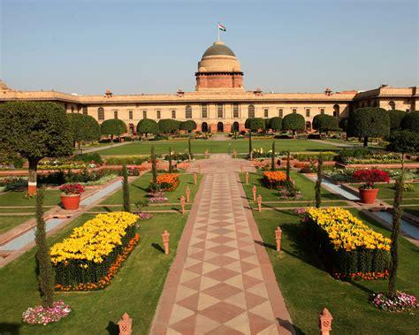 Garden Of Mughal Gardens Rashtrapati Bhavan