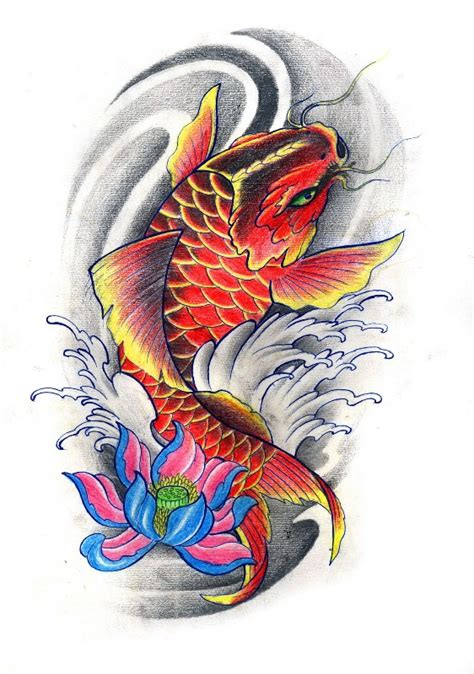 tattoo art koi fish koi flash art google search tattoos pinterest