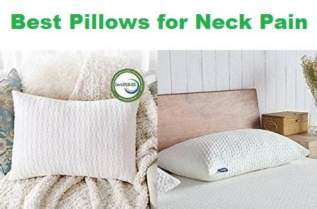 best pillow for neck top 15 best pillows for neck in 2019
