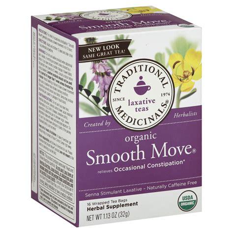 Herbal Stimulant traditional medicinals smooth move herbal tea organic