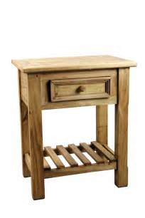 Rustic End Tables Pine Rustic End Table Tres Amigos World Imports