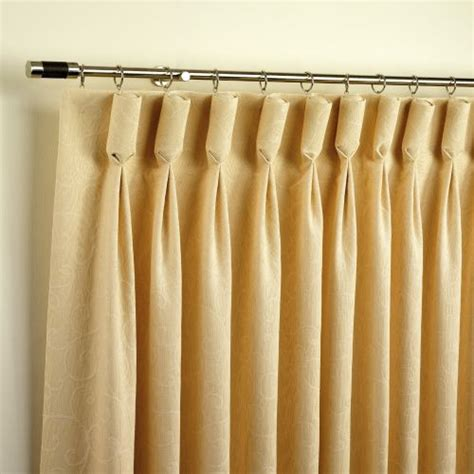 how to sew pleated drapes how to make the perfect pair of goblet pleat curtains