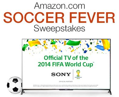 Soccer Sweepstakes - amazon soccer sweepstakes enter to win a sony 4k ultra hd tv and 1 500 amazon gift card