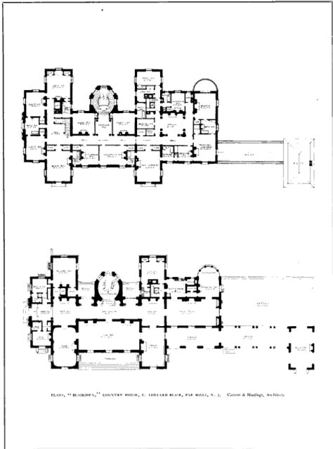 gilded age mansions floor plans beyond the gilded age blairsden